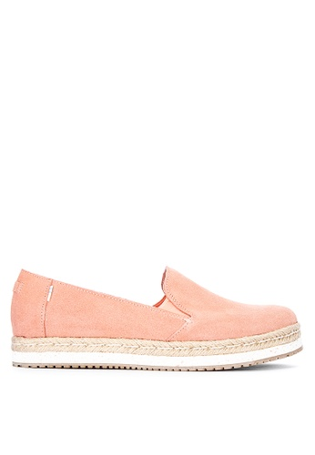TOMS pink Palma Slip On F5558SH575917AGS_1