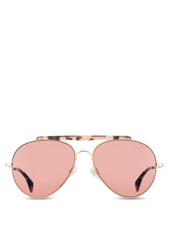 Tommy Hilfiger gold Asian Fit Gigi Hadid Capsule Collection Sunglasses  TO861GL03VEEMY 1 131254b42e