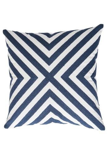 Homeliving.My X-Design Throw Pillow Dark Blue CD029HLFAD3846GS_1