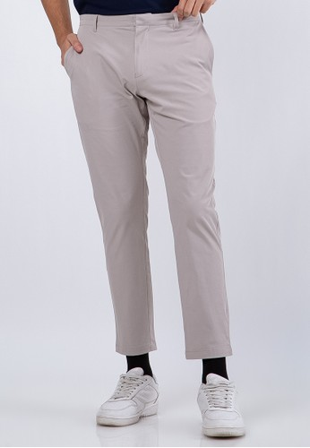 The Executive beige Chinos Pants E78F6AA543E9DEGS_1