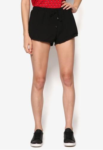 Mary Kate 蕾絲下擺esprit 會員綁帶短褲, 服飾, 短褲