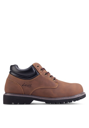 Louis Cuppers brown Lace-Up Boots LO977SH57ZKOMY_1