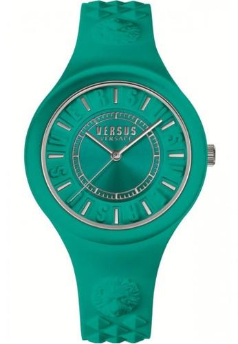 Versus green Versus Fire Island VESOQ070016 Green Strap Ladies Watch VE464AC11EHKMY_1