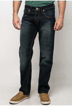 Boy Denim Straight Cut Pants