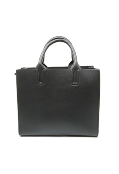 db61a65c3a BELLE LIZ black Solid Colour Leather Top Handle Bag Black 66F82AC6F6CA9FGS 1