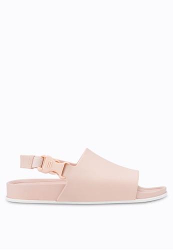 Melissa pink Melissa Beach Slide Ad Sandals ME121SH54CQFMY_1