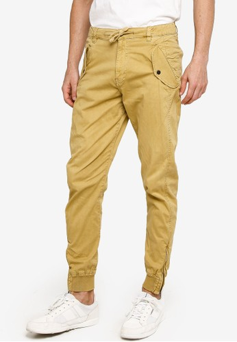 Indicode Jeans brown Todd Jogger Pants 12334AA4BB4684GS_1