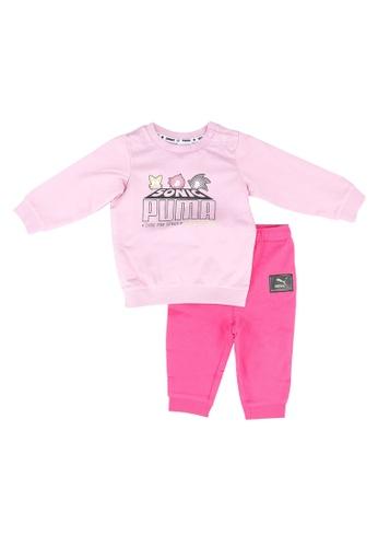 PUMA pink PUMA x SEGA Baby Jogger Set FA8F0KA24C110EGS_1