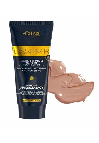 Farmona VOLLARE Cosmetics Make up Foundation Cashmir 404 Warm Golden 1BA99BE0F25E39GS_1