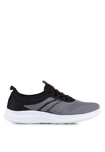 Spiffy black Ladies Sport Shoes D37FCSH30BB585GS_1