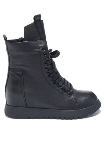 Twenty Eight Shoes Hidden Heel Leather Martin Boots T65603-5D 650A3SHE2EBABCGS_1