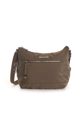 Hedgren brown Hedgren Gleam M Women Crossover Medium Bag Capers - 8.35L D45CAACAA82DADGS_1