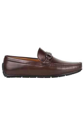 Tomaz brown Tomaz C316 Front Buckled Loafers (Coffee) 3FB18SHA7EC9D1GS_1