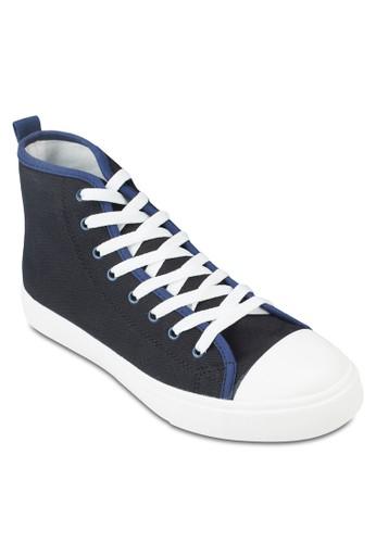 基本款高筒帆布zalora 衣服評價鞋, 鞋, 休閒鞋