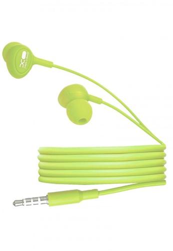 Latest Gadget green XO S6 Candy Earphone Series Handsfree E81FBACD7D8CC3GS_1