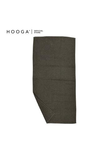HOOGA black Hooga Bath Towel Hadlee (Bundle of 2) BB9FDHL88C7FE3GS_1