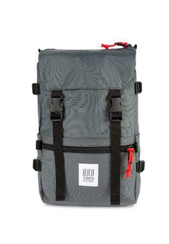 Topo Designs grey Topo Designs Rover Pack 5F77DAC19ED495GS_1
