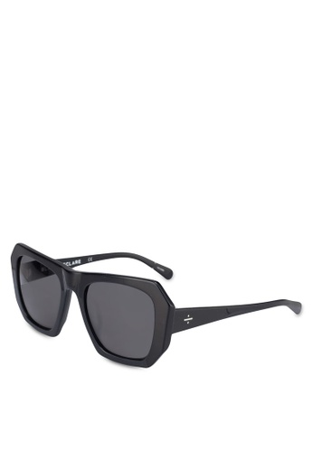 BLANC & ECLARE black Tokyo Sunglasses E8CBBGL6681638GS_1