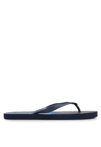 Factorie blue and navy Urban Flip Flops FA880SH0SKMZMY_1
