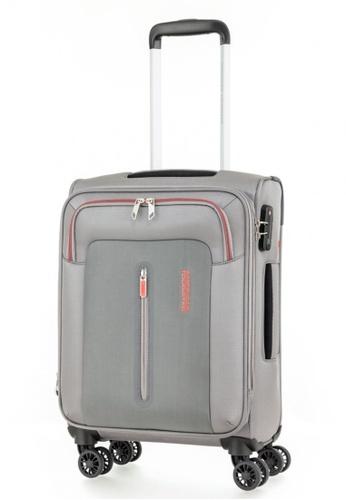 American Tourister grey American Tourister Limo Spinner 55/20 Exp TSA B6A77AC1090DB4GS_1