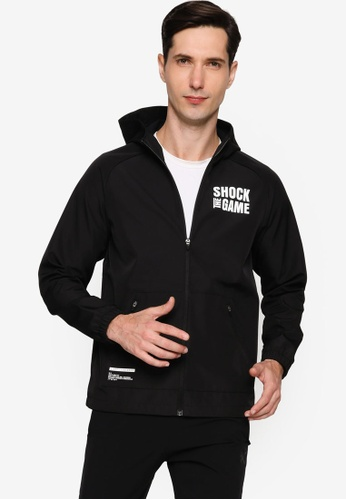 Anta black Shock The Game Woven Track Top 575C5AA2370A19GS_1