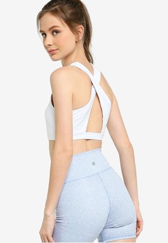 Cotton On Body white Workout Cut Out Crop 9E216US542A197GS_1