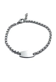 Stainless Steel Id Bar Bracelet