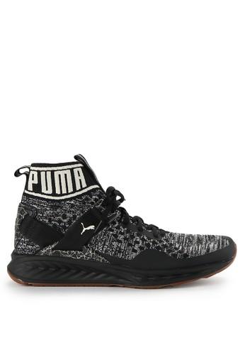 PUMA black Ignite Evoknit Hypernature Shoes PU245SH0WDC2ID_1