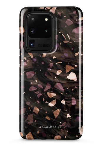 Polar Polar brown Eminence Terrazzo Gem Dual-Layer Tough Case Glossy For Samsung Galaxy S20 Ultra 5G 8FC11ACAFEE79DGS_1