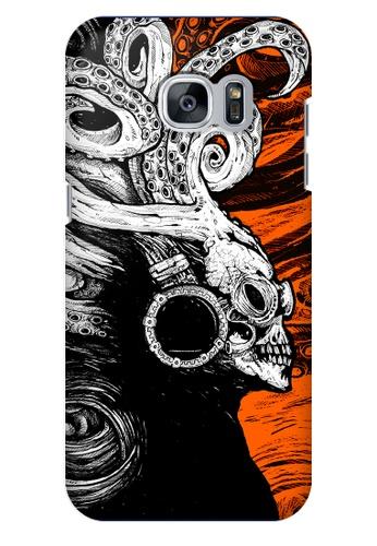 Wonder Cover orange Sound Creep Hard Case for Samsung Galaxy S7 WO617AC57PBEPH_1