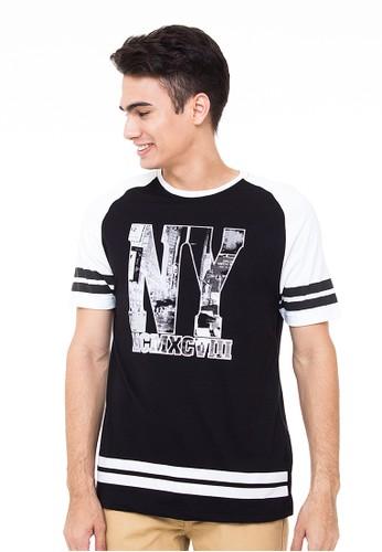 T-shirt Fashion Raul Black