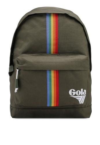 Gola green Harlow Rainbow Backpack 30496AC3FBDAB3GS_1
