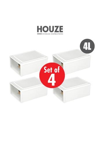 HOUZE [SET OF 4] HOUZE 4L Single Tier Drawer (Gen. X) 721B8HLCAF4434GS_1