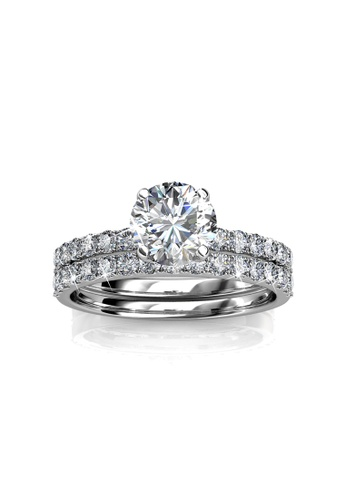 6606ff7f7 Her Jewellery silver Enchanted Ring - Embellished with Crystals from  Swarovski® HE210AC18XDDSG_1