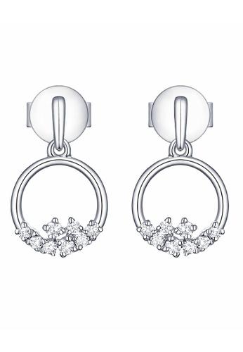 Smiling Rocks white 10K White Gold 0.14ct Lab Grown Diamond Drizzle Earrings D76A1AC40F61EAGS_1