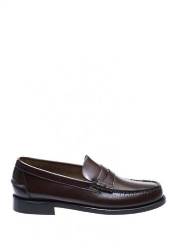Sebago brown Mens Classic Dress Casual Shoes SE328SH0J4Y7PH_1