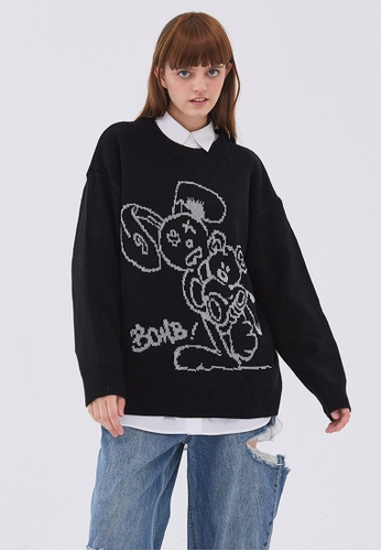 Twenty Eight Shoes Trend Cartoon Knit Sweater HH05109 B3433AA5A47A74GS_1