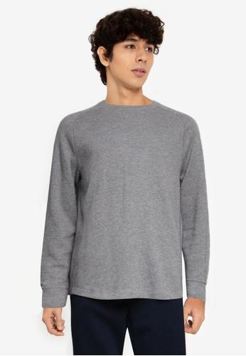 Banana Republic 灰色 Slub 雙 針織Sweater CABBDAA77FE56DGS_1