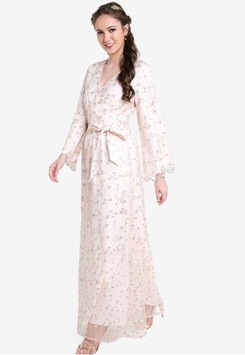 02c8f81f2e2f Shop Zalia Floral Wrap Dress Online on ZALORA Philippines