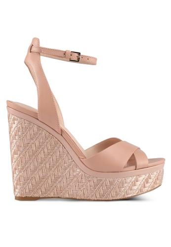 ALDO pink Taerien Wedge Sandals 38B2ASHA2E5F15GS_1