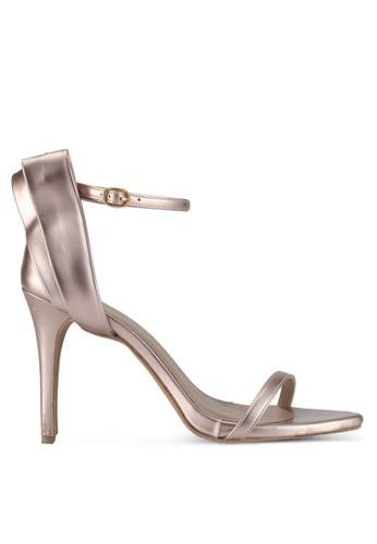 Cipela For Lubna silver Celestia Sandal Heels With Bow 7D586SH3FF5001GS_1