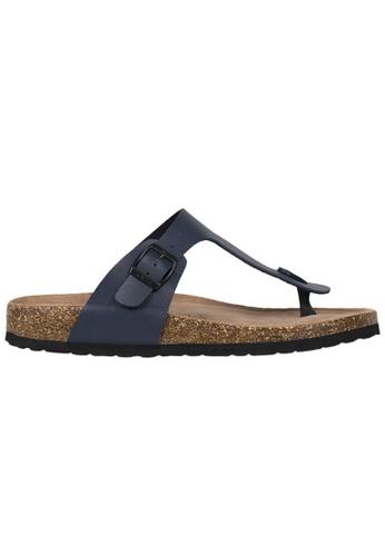 Tomaz navy Tomaz M21 Strap Sandal (Navy) 82B16SH2AC778AGS_1