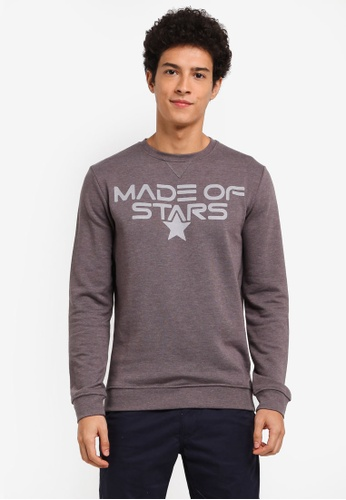 ESPRIT grey Long Sleeve Sweatshirt 9CCCDAA2CDCF17GS_1
