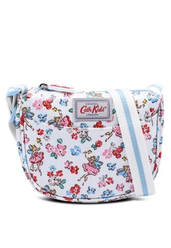 Cath Kidston beige Little Fairies Kids Half Moon Handbag 57B03KC528751BGS_1