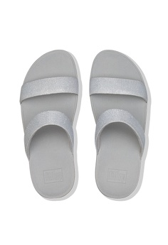 4c05a12d7f6ac4 FitFlop Fitflop Lottie Glitzy Slide (Silver) RM 399.00. Sizes 6 7 8
