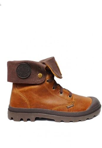Palladium Boots brown Baggy Leather Men's Boots 5E0FDSH7120CCFGS_1