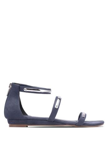 VINCCI navy Strappy Sandals VI831SH0S51IMY_1