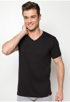 V-Neck Undershirt with Cuff