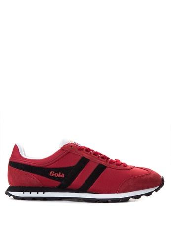 Gola red Boston Sneakers GO513SH18TRXPH_1