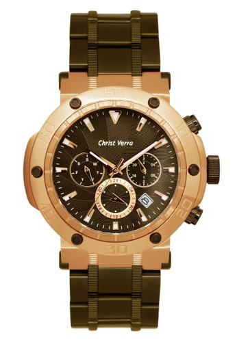 Christ Verra brown Christ Verra Men's Watches CV 52283G-17 BRN 226FAAC18DF634GS_1
